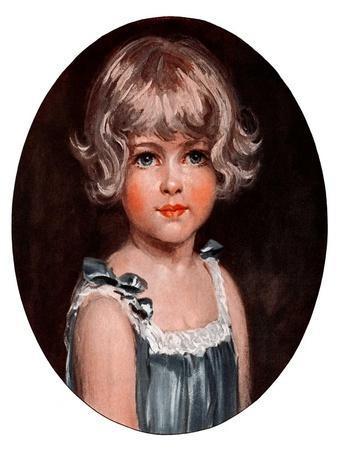 """""""Little Girl in Blue,""""February 7, 1925"""