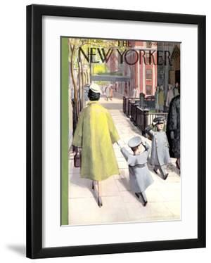 The New Yorker Cover - April 14, 1956 by Arthur Getz