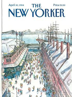 The New Yorker Cover - April 30, 1984 by Arthur Getz