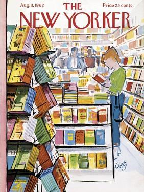 The New Yorker Cover - August 11, 1962 by Arthur Getz