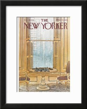 The New Yorker Cover - August 30, 1976 by Arthur Getz