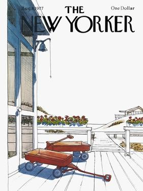 The New Yorker Cover - August 8, 1977 by Arthur Getz