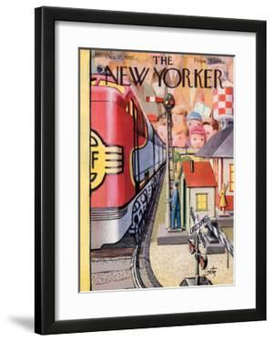 The New Yorker Cover - December 17, 1955 by Arthur Getz