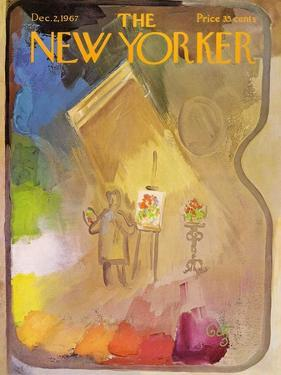 The New Yorker Cover - December 2, 1967 by Arthur Getz