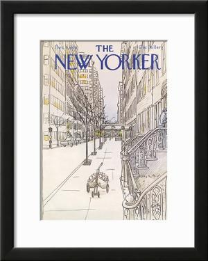 The New Yorker Cover - December 4, 1978 by Arthur Getz