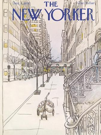 The New Yorker Cover - December 4, 1978