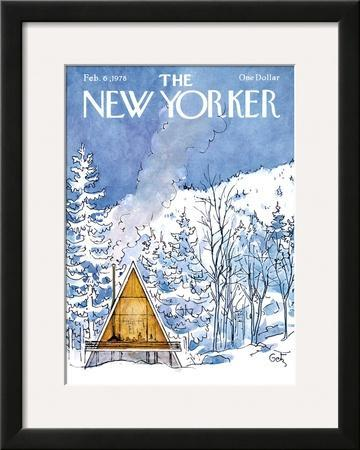 The New Yorker Cover - February 6, 1978 by Arthur Getz