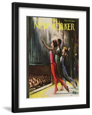 The New Yorker Cover - January 20, 1962 by Arthur Getz