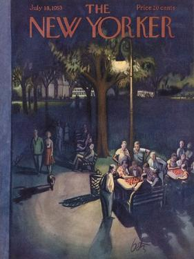 The New Yorker Cover - July 18, 1953 by Arthur Getz
