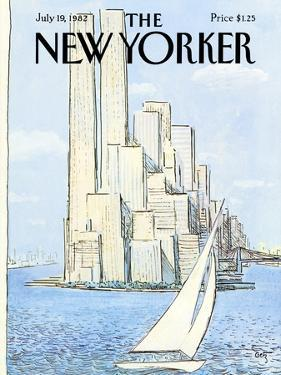 The New Yorker Cover - July 19, 1982 by Arthur Getz