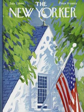 The New Yorker Cover - July 2, 1966 by Arthur Getz