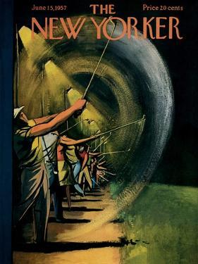 The New Yorker Cover - June 15, 1957 by Arthur Getz
