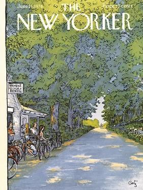The New Yorker Cover - June 21, 1976 by Arthur Getz