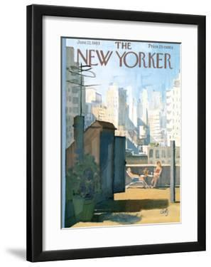 The New Yorker Cover - June 22, 1963 by Arthur Getz