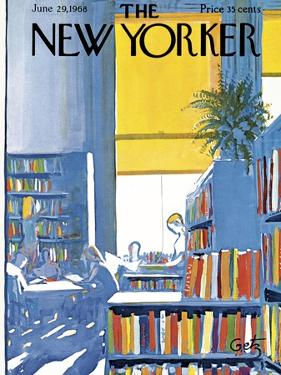 The New Yorker Cover - June 29, 1968 by Arthur Getz