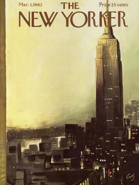 The New Yorker Cover - March 3, 1962 by Arthur Getz