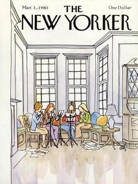 The New Yorker Cover - March 3, 1980 by Arthur Getz
