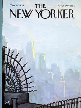The New Yorker Cover - March 8, 1969 by Arthur Getz