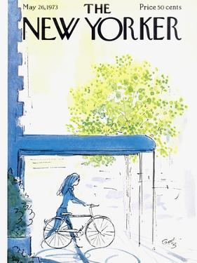 The New Yorker Cover - May 26, 1973 by Arthur Getz