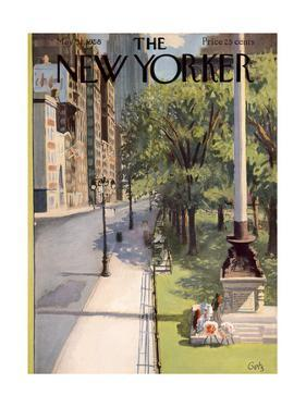 The New Yorker Cover - May 31, 1958 by Arthur Getz