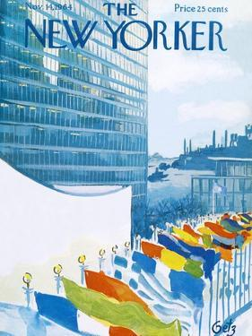 The New Yorker Cover - November 14, 1964 by Arthur Getz