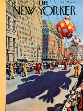The New Yorker Cover - November 29, 1952 by Arthur Getz