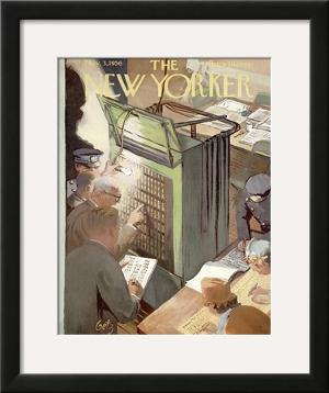 The New Yorker Cover - November 3, 1956 by Arthur Getz