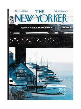 The New Yorker Cover - November 30, 1963 by Arthur Getz