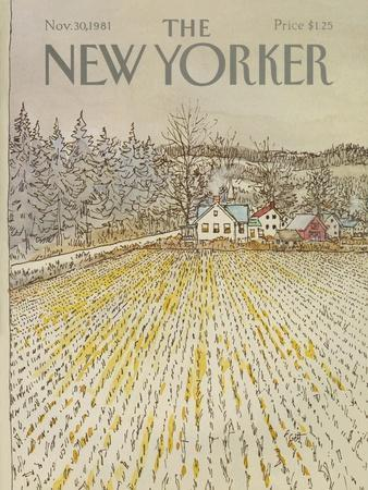 The New Yorker Cover - November 30, 1981
