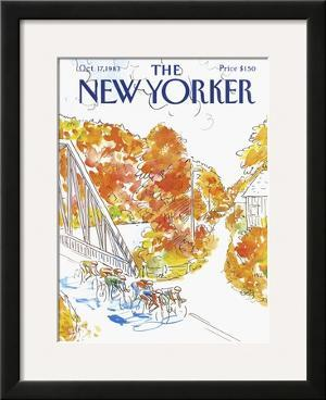 The New Yorker Cover - October 17, 1983 by Arthur Getz