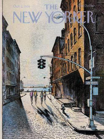 The New Yorker Cover - October 2, 1978 by Arthur Getz