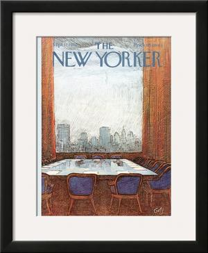 The New Yorker Cover - September 17, 1973 by Arthur Getz