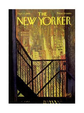 The New Yorker Cover - September 21, 1968 by Arthur Getz