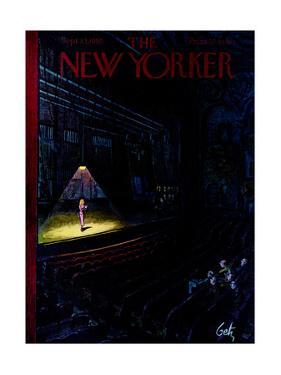 The New Yorker Cover - September 23, 1950 by Arthur Getz