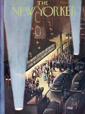 The New Yorker Cover - September 26, 1953 by Arthur Getz