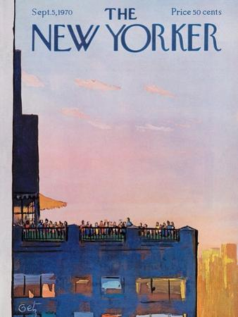 The New Yorker Cover - September 5, 1970 by Arthur Getz
