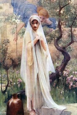 The Annunciation, 1926 by Arthur Hacker