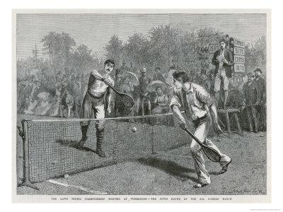 Lawford Versus Renshaw in the Fifth Round of the All-Comers' Match