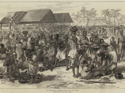 The Ashantee War, General Market, Cape Coast Castle