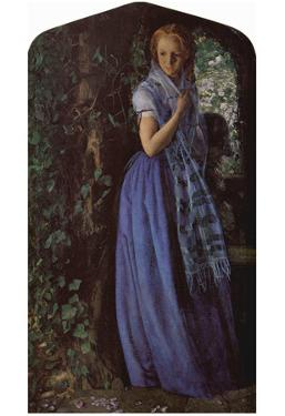 Arthur Hughes (April Love) Art Poster Print