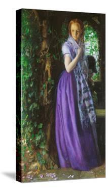 April Love, ca. 1855 by Arthur Hughes