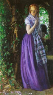 April Love, ca. 1855 by Arthur Hughes