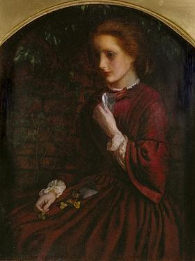 Pansies, C.1860 by Arthur Hughes
