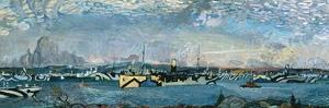 Convoy in Bedford Basin by Arthur Lismer