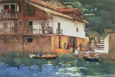 Orange Market, Puerta De Los Pasajes, 1892