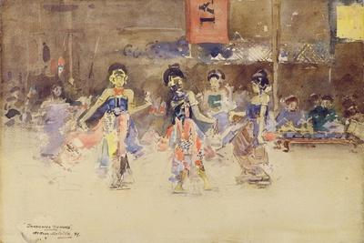 The Javanese Dancers, 1889