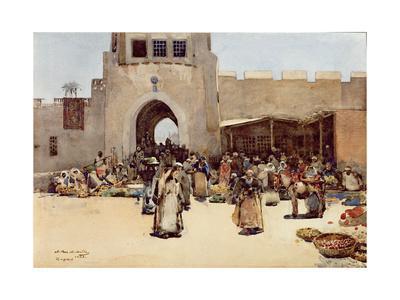 The North Gate, Baghdad