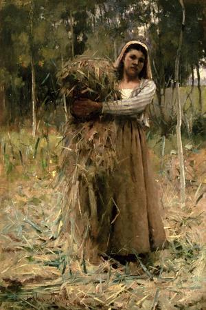 The Peasant Girl (The Faggot Collector) 1880