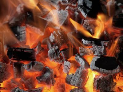 Charcoal Fire by Arthur Morris