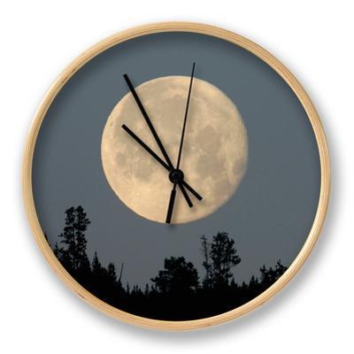 Full Moon over Ridge Kamloops, British Columbia